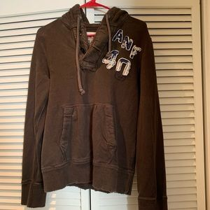 Abercrombie and Fitch Brown Sweatshirt with hood